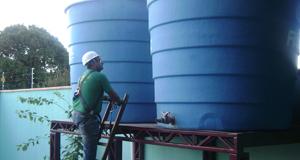 Dimensionamento de Caixa d'água