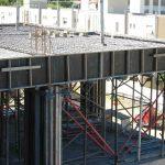 Estrutura de concreto armado.