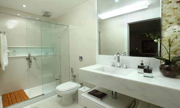 Nicho para banheiro  Passo a Passo  Escola Engenharia -> Nicho Para Banheiro Toalhas